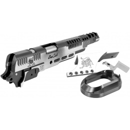 Airsoft Masterpiece Limcat SteelCat Open Slide Kit Set for Hi-Capa - TITANIUM GRAY