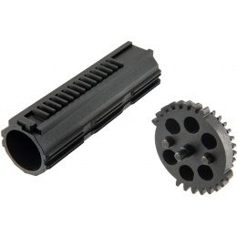 G&G Heat Treated Dual Sector Gear - BLACK