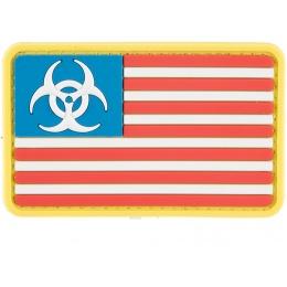 G-Force Biohazard US Flag PVC Morale Patch