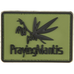 G-Force Praying Mantis Morale Patch PVC Morale Patch - OD GREEN