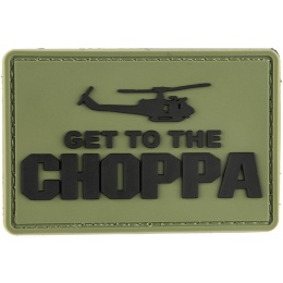 G-Force Get to the Choppa Patch PVC Morale Patch