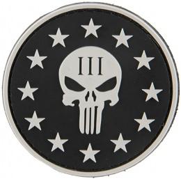 G-Force Punisher 3 Percenter Patch - BLACK