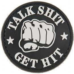 G-Force Talk Shit Get Hit PVC Morale Patch