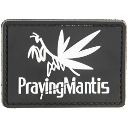G-Force Praying Mantis PVC Morale Patch - BLACK