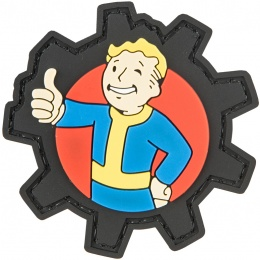 G-Force Dropout Dude Thumbs Up PVC Morale Patch