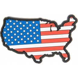 G-Force America W/ American Flag PVC Morale Patch