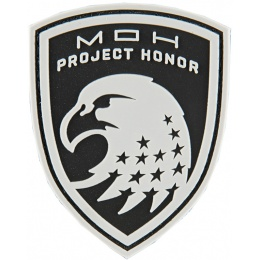 G-Force Shield of Project Honor PVC Morale Patch - BLACK