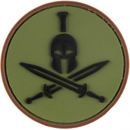G-Force Spartan insignia PVC Morale Patch