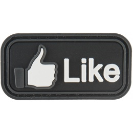 G-Force I Like Button PVC Morale Patch