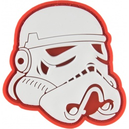 G-Force Imperial Soldier Helmet PVC Morale Patch - RED