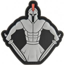 G-Force Spartan Warrior Molon Labe PVC Morale Patch