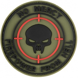 G-Force No Mercy Firepower From Hell PVC Patch