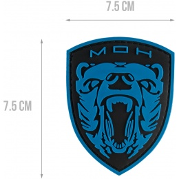 G-Force Medal of Honor MOH Grizzly PVC Patch