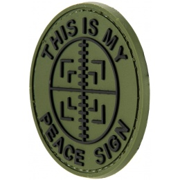 G-Force This Is My Peace Sign PVC Patch