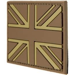 G-Force UK Flag PVC Morale Patch - TAN