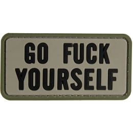 G-Force Go F*** Yourself PVC Morale Patch