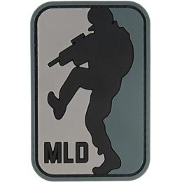G-Force MLD Major League DoorKicker PVC Morale Patch - BLACK
