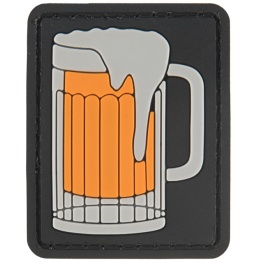 G-Force Big Beer Mug PVC Morale Patch