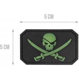 G-Force Glow in the dark Pirate Morale Patch