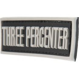 G-Force Three Percenter Morale Patch - BLACK