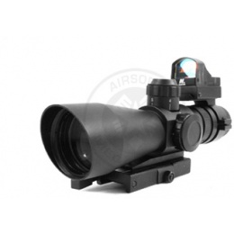 NcStar 3-9x42 Mark 3 Adjustable Zoom Mil-Dot Scope w/ Micro Red Dot