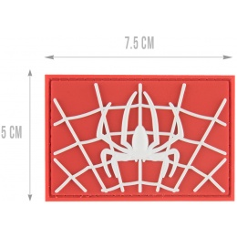 G-Force Web Man Morale Patch - WHITE / RED