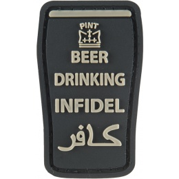 G-Force Beer Drinking Infidels Morale Patch