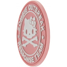 G-Force Zombie Outbreak Response Team Morale Patch - PINK