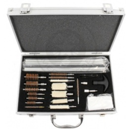 NcStar Universal Gun Cleaning & Maintenance Kit w/ Aluminum Case
