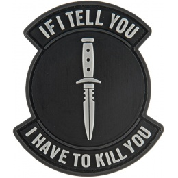 G-Force If I Tell You I Have to Kill You Moral Patch