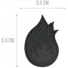 G-Force Fire PVC Morale Patch