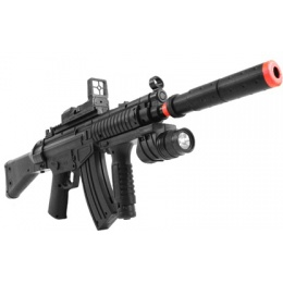 P1095 Spring Powered Airsoft Rifle With Tactical Foregrip