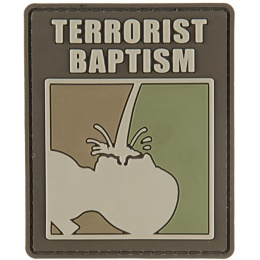G-Force Terrorrist Baptism PVC Morale Patch