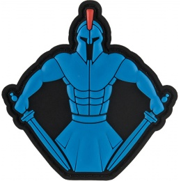 G-Force Spartan Ready for Battle Morale Patch - BLUE