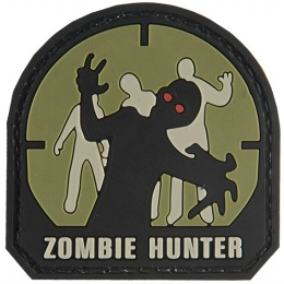G-Force Zombie Hunter PVC Morale Patch - (Small) OD GREEN