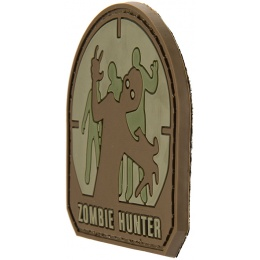G-Force Zombie Hunter PVC Morale Patch - (Small) BROWN