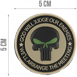 G-Force Punisher Enemies Glow-in-the-Dark PVC Morale Patch