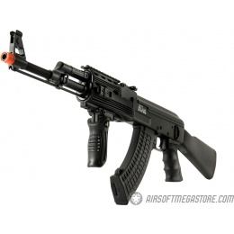 Echo1 Full Metal Red Star 47 RIS AEG w/ Battery and Charger - BLACK
