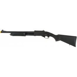 JAG Arms Scattergun HD Airsoft Gas Shotgun (Standard Tube) - BLACK