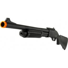 JAG Arms Scattergun HD Airsoft Gas Shotgun (Standard Tube) - BLACK