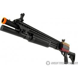 JAG Arms Scattergun SP Airsoft Gas Shotgun (Extended Tube) - BLACK