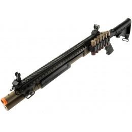JAG Arms Scattergun SP Airsoft Gas Shotgun (Extended Tube) - TAN