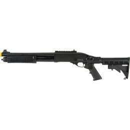JAG Arms Scattergun TS Airsoft Gas Shotgun - BLACK