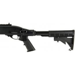 JAG Arms Scattergun TS Airsoft Gas Shotgun - BLACK