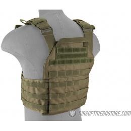 Lancer Tactical Assault Recon Plate Carrier - OD GREEN