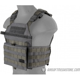 Lancer Tactical Assault Recon Plate Carrier - GRAY