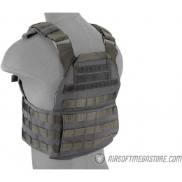 Lancer Tactical Assault Recon Plate Carrier - GRAY