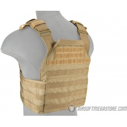 Lancer Tactical Assault Recon Plate Carrier - TAN