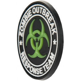 G-Force Glow-in-the-Dark Zombie Oubreak Response Team PVC Morale Patch