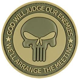 G-Force Punisher Enemies PVC Morale Patch - OD GREEN
